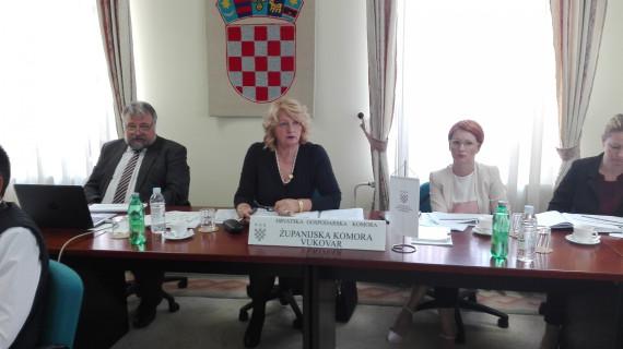 Održana 15. sjednica Gospodarskog vijeća HGK – ŽK Vukovar