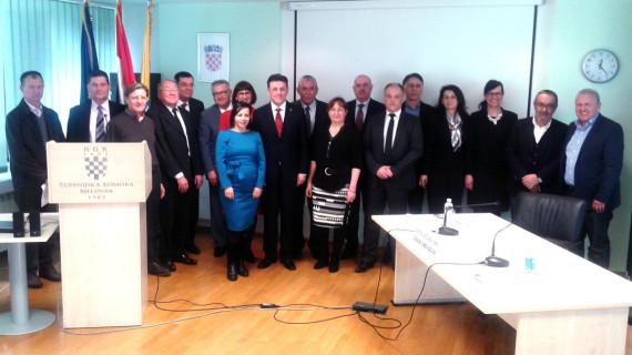 Sjednica Gospodarskoga vijeća ŽK Bjelovar