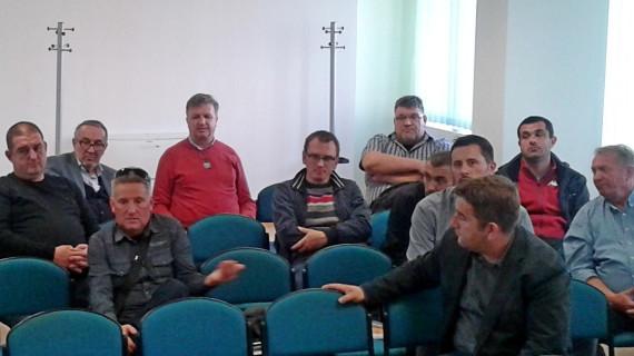 Sastanak predstavnika građevinskih tvrtki i obrta u ŽK Bjelovar