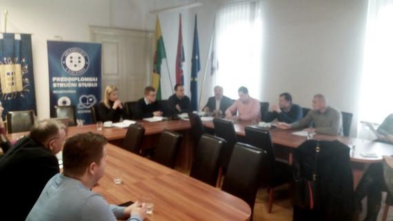 Sastanak predstavnika Strukovne grupacije metaloprerađivača ŽK Bjelovar s predstavnicima Veleučilišta u Bjelovaru
