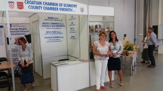 Gospodarstvo Virovitičko-podravske županije na međunarodnom sajmu Pecs-expo u Mađarskoj
