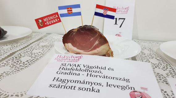 Treća izložba i ocjenjivanje šunke u Szentlorincu u Mađarskoj
