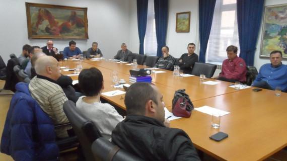 Održana sedma sjednica Strukovne grupacije zaštite na radu i zaštite od požara ŽK Sisak