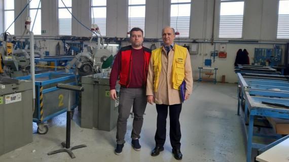 Mobilni tim ŽK Bjelovar u tvrtki Assa Abloy Croatia d.o.o.