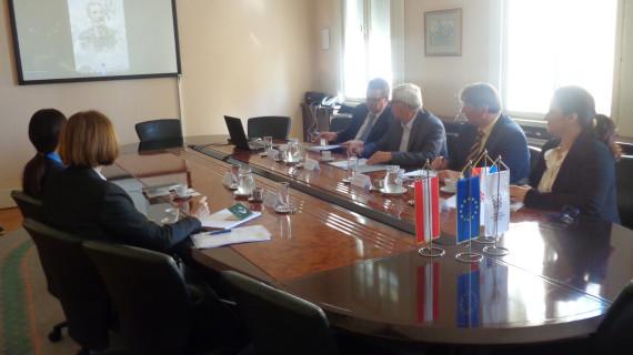 Posjeta Austrijskog ureda za vanjsku trgovinu HGK ŽK Rijeka
