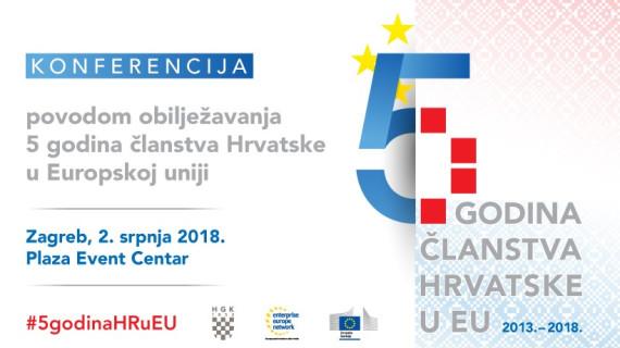 Konferencija Pet godina članstva Republike Hrvatske u Europskoj uniji