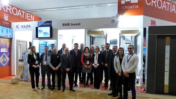 Velik interes za hrvatske građevinske tvrtke na sajmu BAU u Münchenu