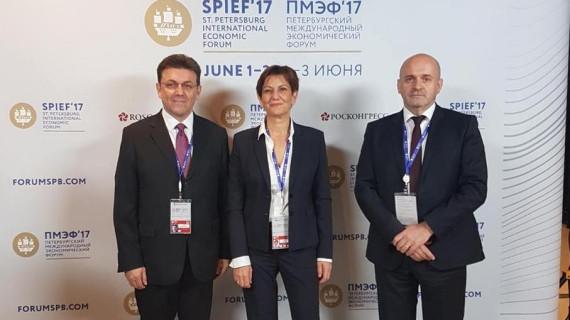 Izaslanstvo RH na Međunarodnomu gospodarskom forumu u Sankt Peterburgu