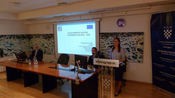 Seminar o carinskim postupcima održan u Komori Zagreb
