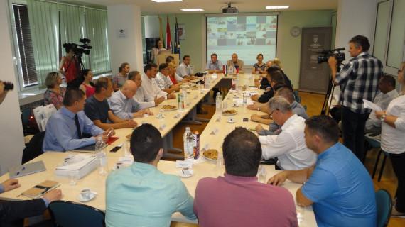 Poslovni susret gospodarstvenika Plzenske i Bjelovarske županije u ŽK Bjelovar