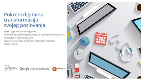 ŽK Pula poziva na radionicu Digitalna garaža – Pokreni digitalnu transformaciju svojeg poslovanja