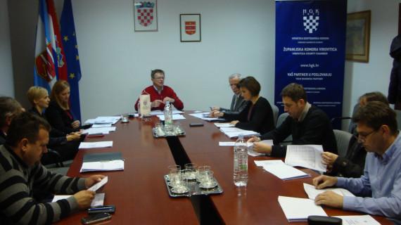 Održana 46. sjednica Strukovne grupe graditeljstva i projektiranja ŽK Virovitica
