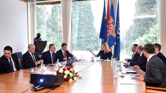 Predsjednici Republike predstavljena Strategija poslovanja Hrvatske gospodarske komore