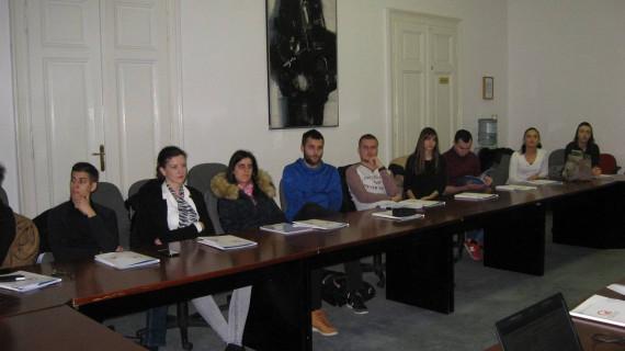Studenti Ekonomskog fakulteta posjetili ŽK Osijek