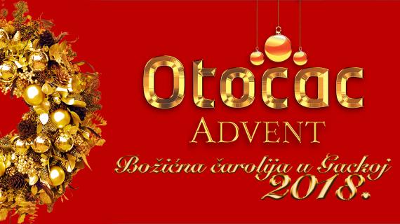Poziv na 12. Međunarodni božićni sajam u Otočcu, 15. i 16. prosinca 2018.