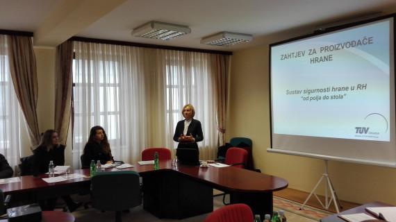 Održana radionica o standardu GlobalGAP