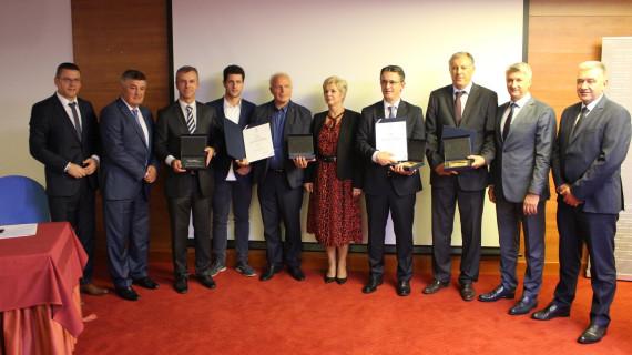 Dodijeljene plakete Zlatna i Kristalna kuna na sjednici Gospodarskoga vijeća ŽK Zadar