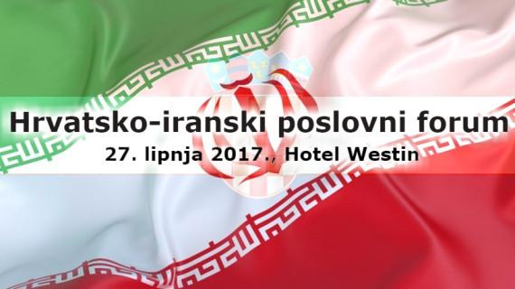 Hrvatsko-iranski poslovni forum 27. lipnja u hotelu Westin