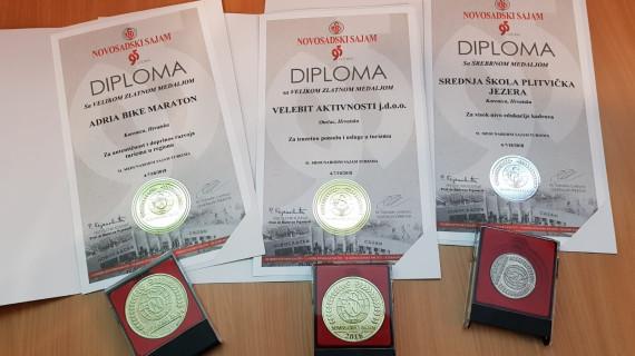 Visoka priznanja s međunarodnog ocjenjivanja kvalitete u turizmu