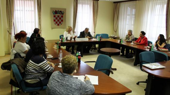 Delegacija žena poduzetnica Makedonije u ŽK Vukovar