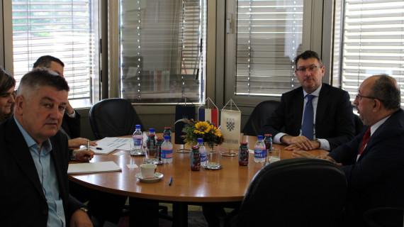 Belgijski veleposlanik posjetio ŽK Zadar