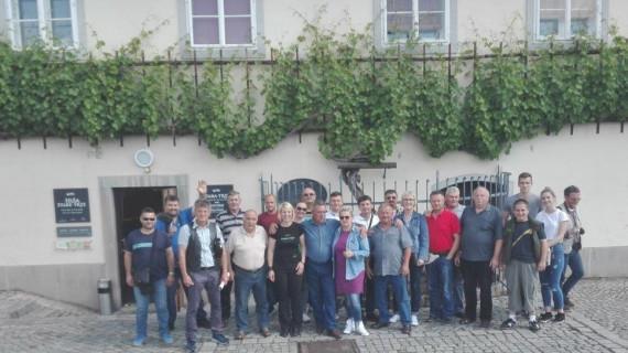 Članovi Grupacije vinogradarstva i voćarstva ŽK Virovitica na stručnom putovanju u Sloveniji