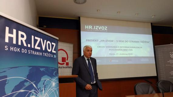 Održan seminar o internacionalizaciji poslovanja malih i srednjih poduzetnika