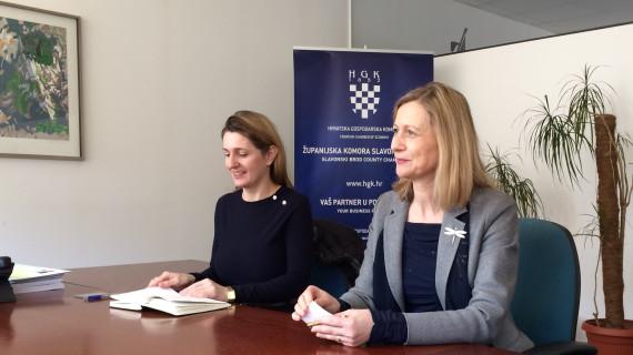 Slovenska veleposlanica posjetila Županijsku komoru Slavonski Brod