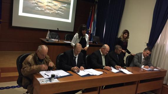 U ŽK Rijeka održano svečano potpisivanje Ugovora Fly Croatia