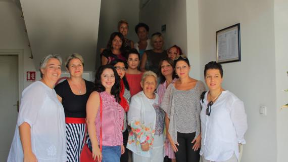U HGK – ŽK Dubrovnik organiziran susret članica Udruge Krug i delegacije poduzetnica iz Makedonije