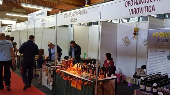 Izlagači iz Virovitičko-podravske županije na 21. Osječkom jesenskom sajmu