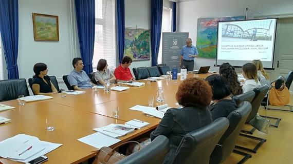 Predstavljen natječaj Uvođenje sustava upravljanja poslovnim procesima i kvalitetom (ISO i slične norme)