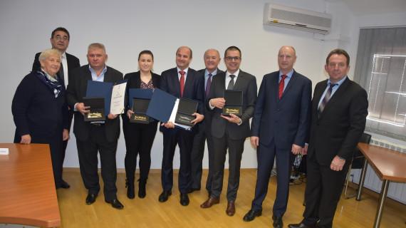 Dodijeljene Zlatne plakete najuspješnijim tvrtkama Krapinsko-zagorske županije u 2016. godini