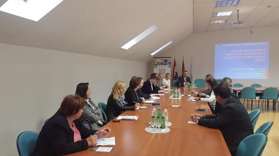 U ŽK Krapina održana radionica o osiguranju radničkih potraživanja u slučaju stečaja poslodavca