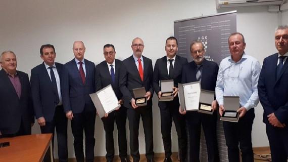 Dodijeljene Zlatne plakete najuspješnijim tvrtkama Krapinsko-zagorske županije u 2017. godini