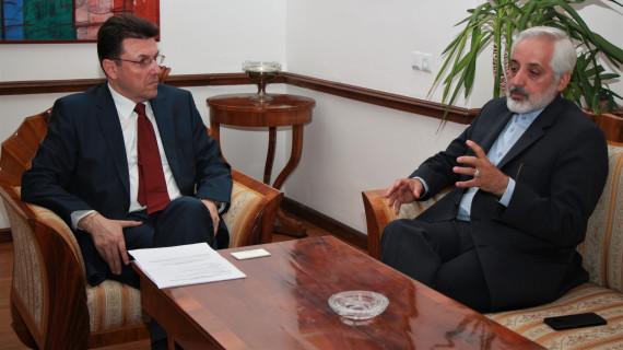 Posjet veleposlanika Irana Hrvatskoj gospodarskoj komori