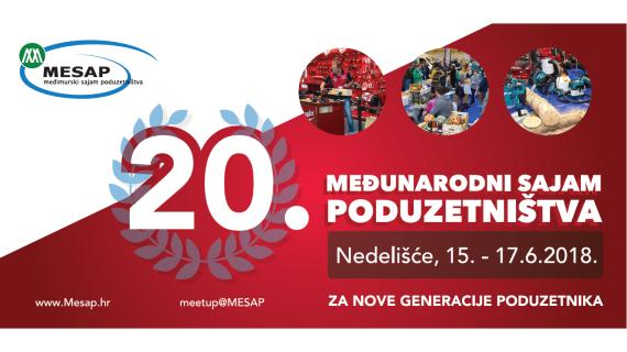 MESAP 2018., međunarodni sajam poduzetništva