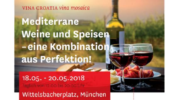 Predstavljanje hrvatskih vina i hrvatske turističke ponude u Münchenu