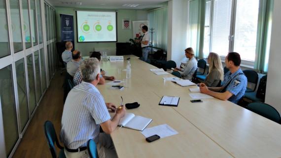 Radionica Pregled tehnologija obnovljivih izvora energije i mogućnosti njihova financiranja održana u ŽK Bjelovar