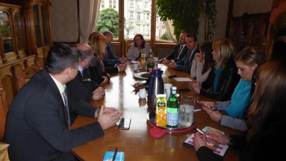 Izaslanstvo Krapinsko-zagorske županije u posjetu Predstavništvu HGK u Bruxellesu