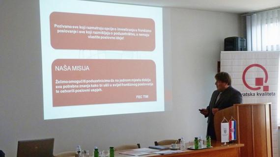 U ŽK Varaždin predstavljen Sajam franšiza FEC