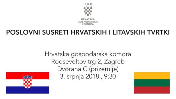 Poslovni susreti hrvatskih i litavskih tvrtki