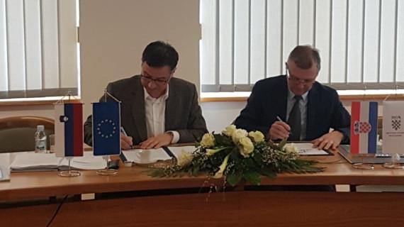 Potpisan Sporazum o suradnji ŽK Varaždin i Pomurske gospodarske zbornice