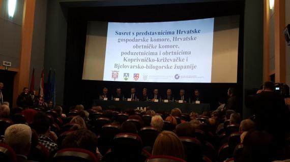 Poduzetnici se u Koprivnici susreli s Predsjednicom RH