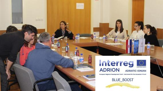 U HGK- Županijskoj komori Zadar u sklopu projekta Blue_Boost održana tri ciklusa radionica na temu inovacija za tvrtke plavoga gospodarstva