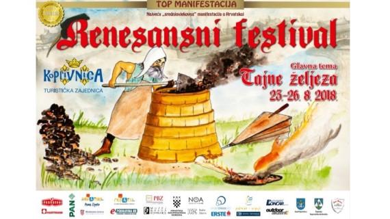 ŽK Koprivnica poziva na Renesansni festival u Koprivnicu