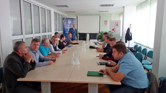 Održana Sjednica Strukovne grupacije za graditeljstvo i industriju građevinskog materijala ŽK Bjelovar