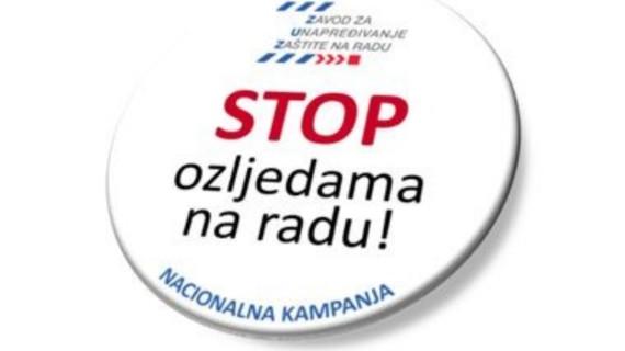 U Županijskoj komori Vukovar održat će se predstavljanje nacionalne kampanje Stop ozljedama na radu