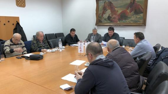 Održana izborna sjednica Strukovne grupacije zaštite na radu i zaštite od požara ŽK Sisak