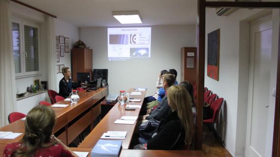 Studenti Sveučilišta u Dubrovniku posjetili ŽK Dubrovnik